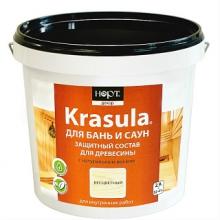 Защитно-декоративный состав «KRASULA® для бань и саун»