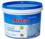 Акриловая супербелая краска для потолков АКВЕСТ-4 Мастер