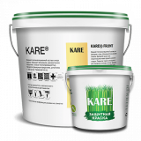 Теплоизоляционная краска для фасадов и стен KARE® FRONT